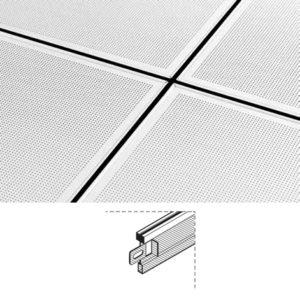 Structure T15 Silhouette pour faux plafond démontable